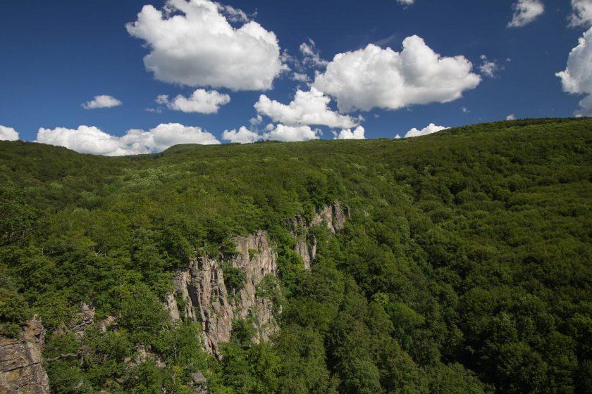 Lezecká oblasť Hrádok v Kamenci pod Vtáčnikom neďaleko Prievidze