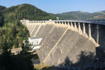 Vodná nádrž Vír - Via Ferrata
