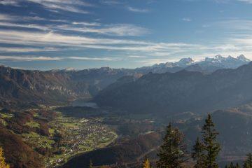 Pohlad z vrchu Katrin