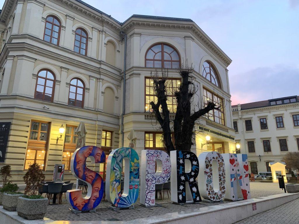 Šoproň - krásne historické mesto