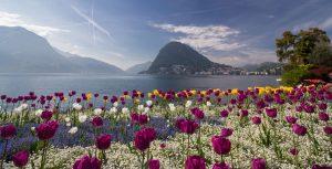 Lugano, korzo pri jazere