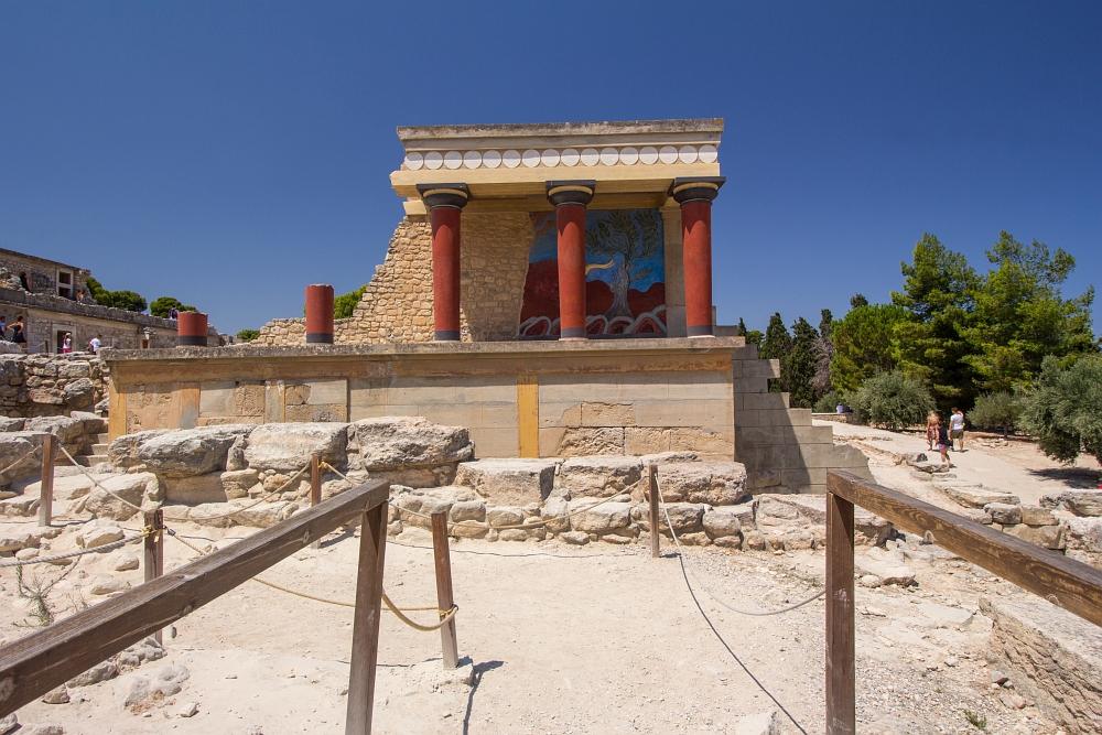 Knossos, Kréta, Grécko