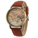 Náramkové hodinky pre cestovateľov
