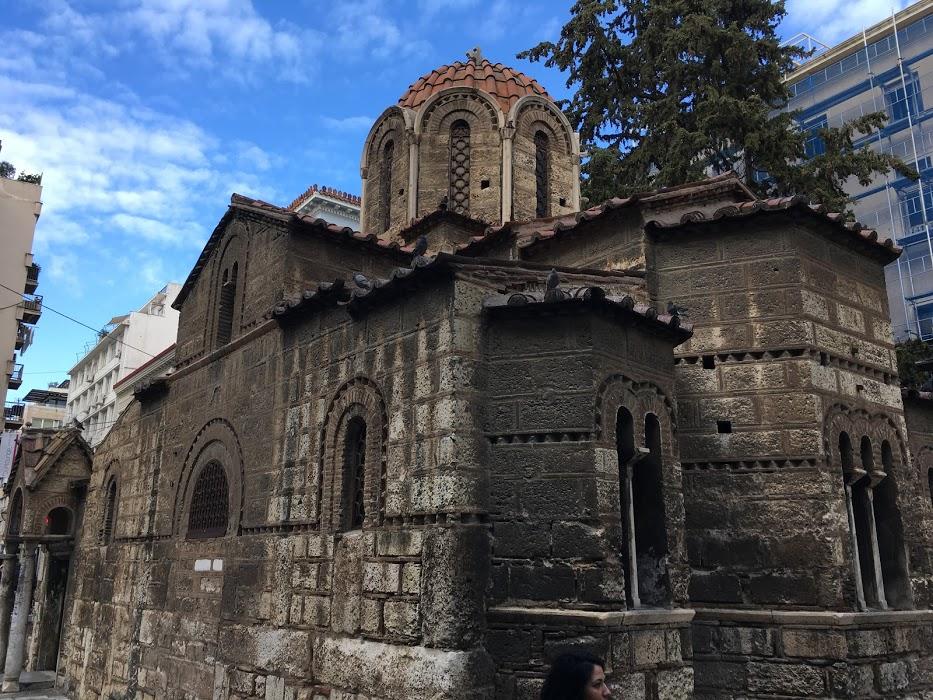 Kostol, Atény