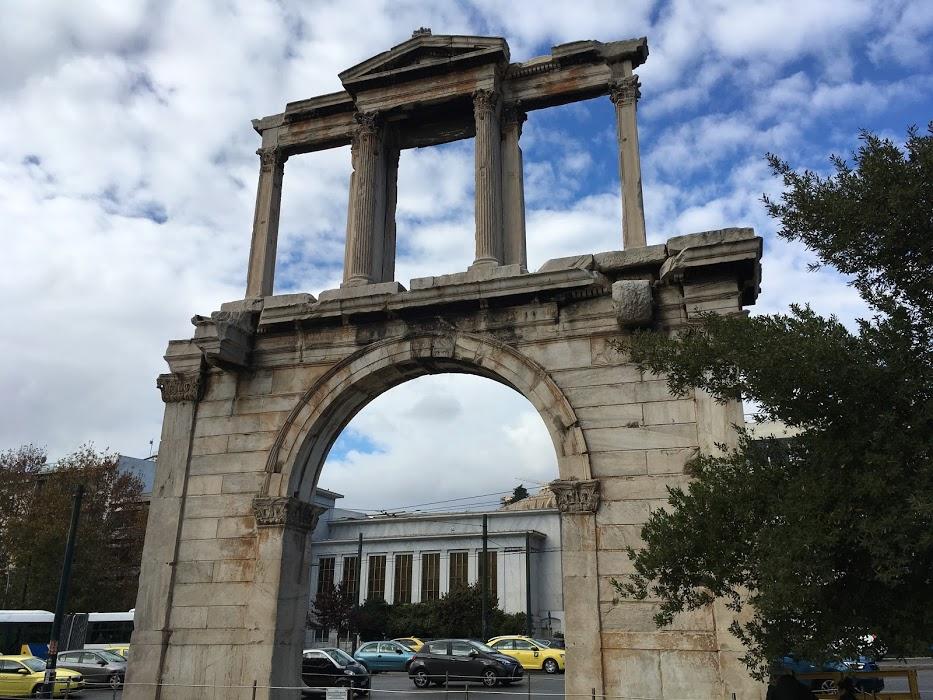Hadriánov oblúk, Atény