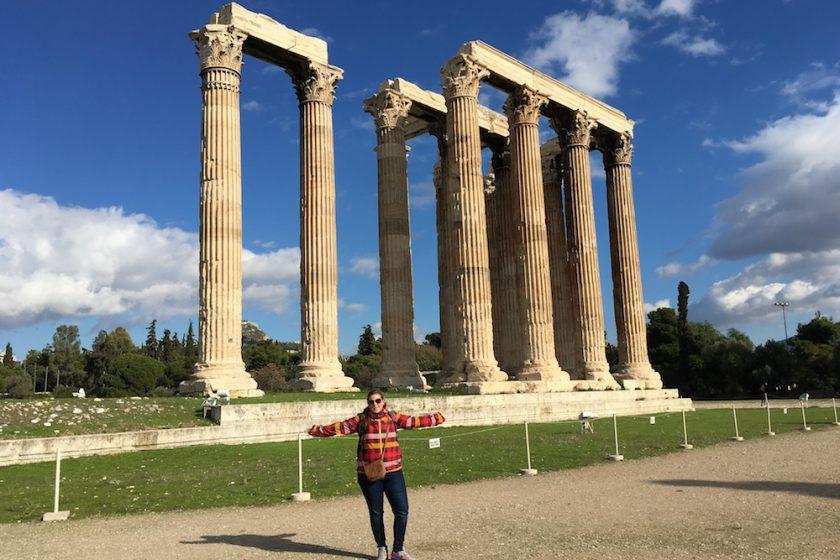 Diov chrám, Atény