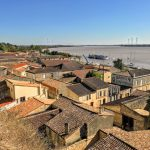 Bourg na rieke Dordogne, Akvitánsko