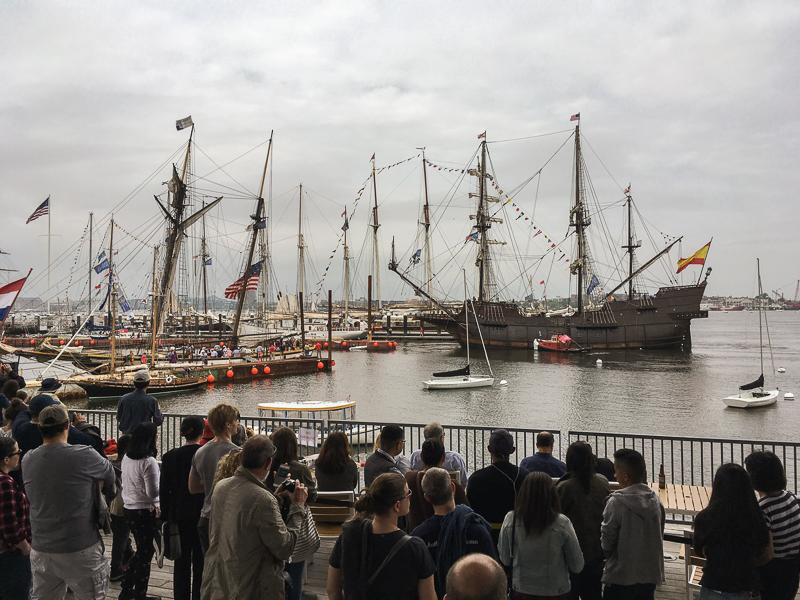 Boston Grand Parade of Sail