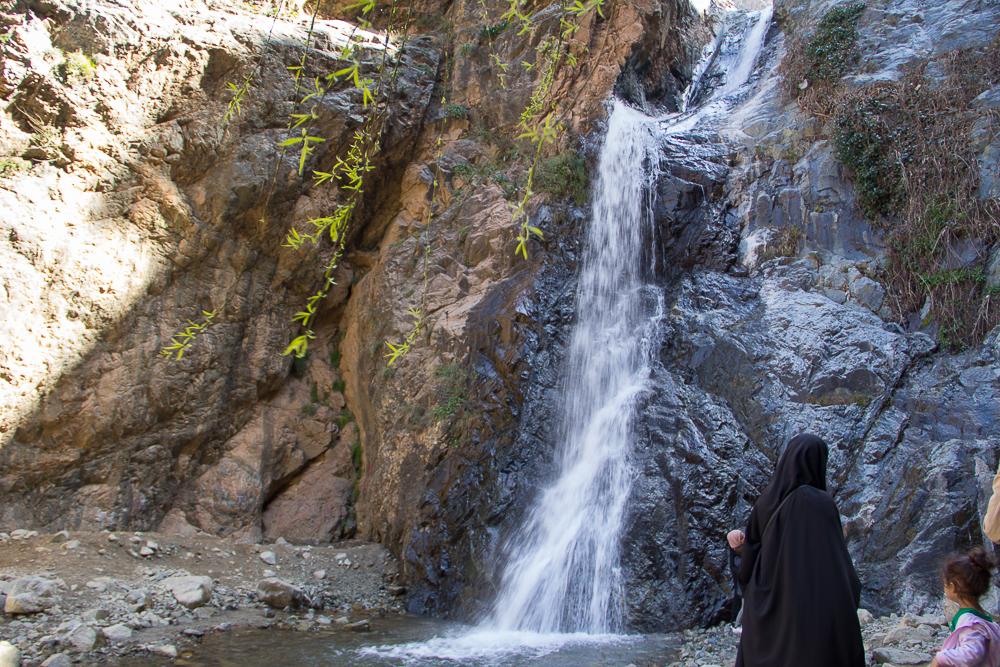 Najvyššie položený vodopád ku ktorému sme vyšli
