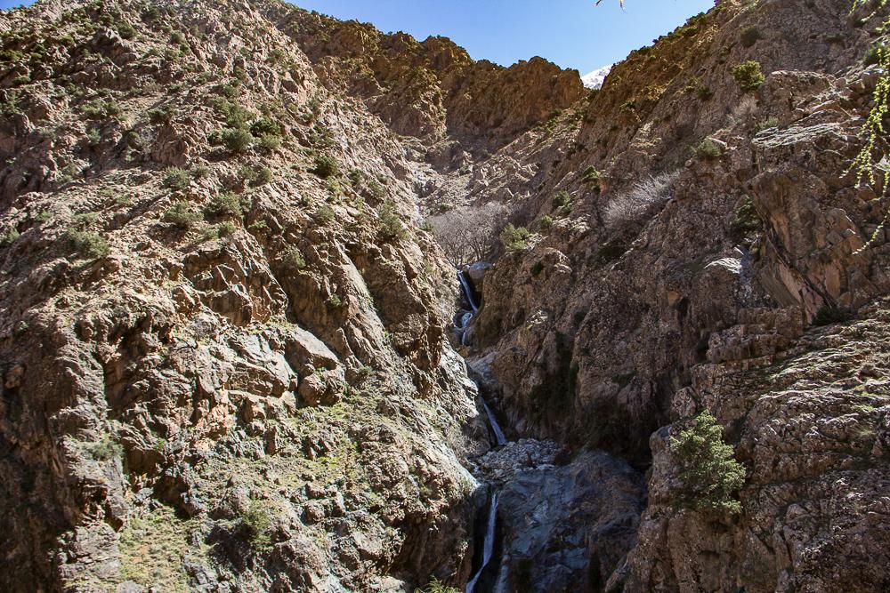 Pohľad na väčšinu vodopádov