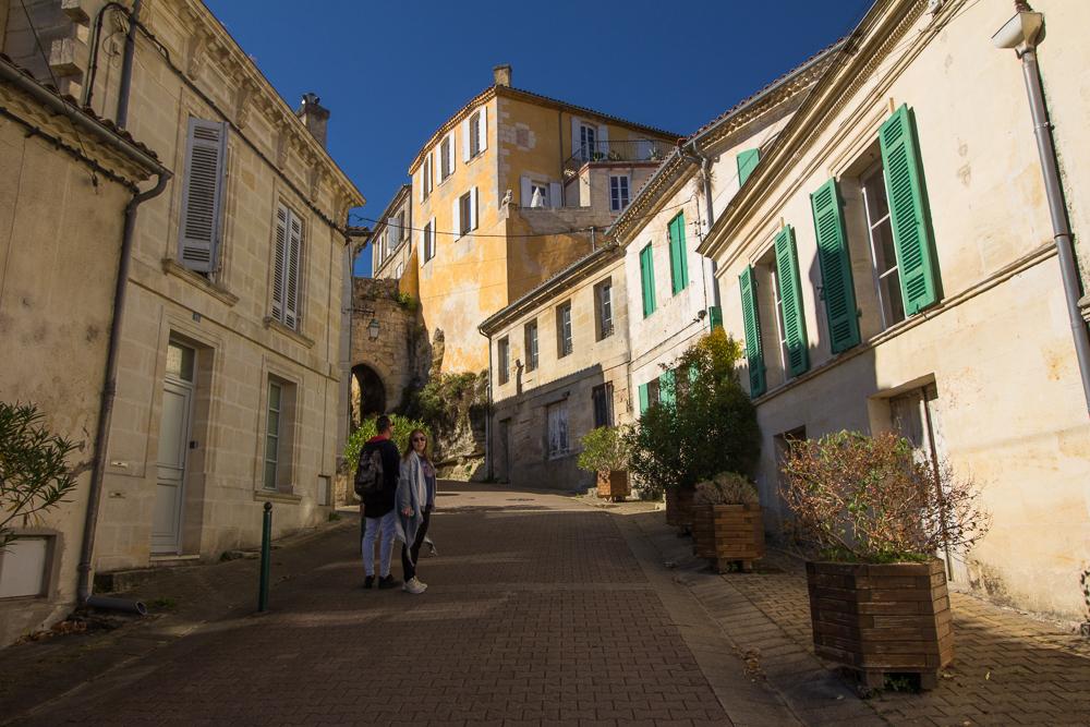 Uličky mestečka Bourg