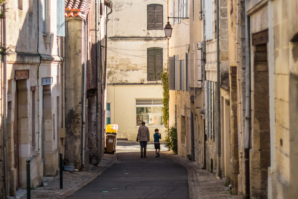 Bourg - viac uličiek