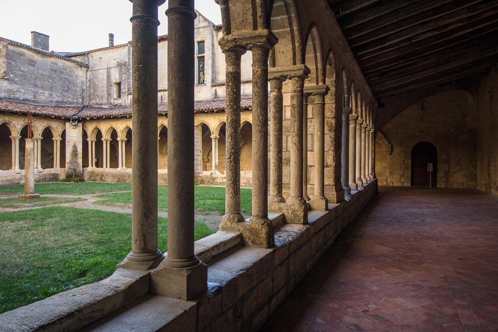 Kostol v Saint Emilion