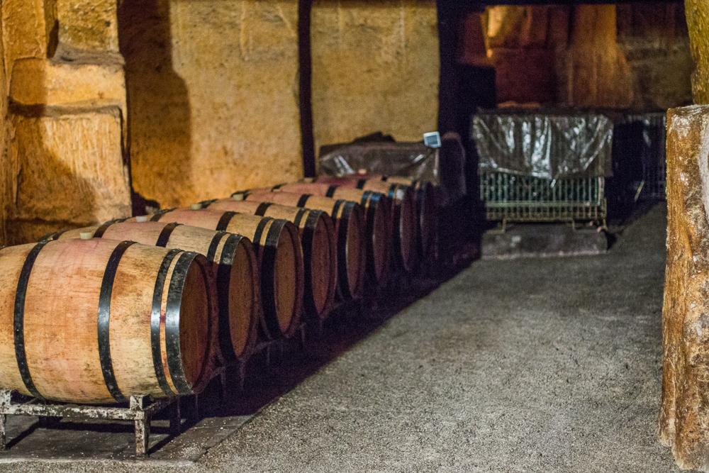 Vinné pivnice Chateaux Franc Mayne