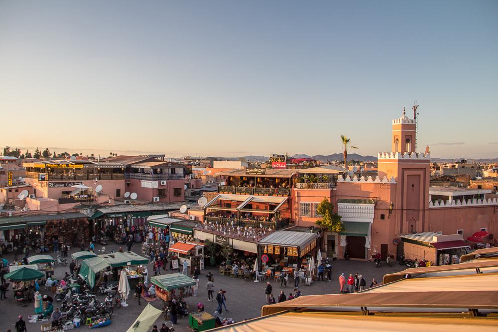 Centrálne trhovisko Jamaa el Fna
