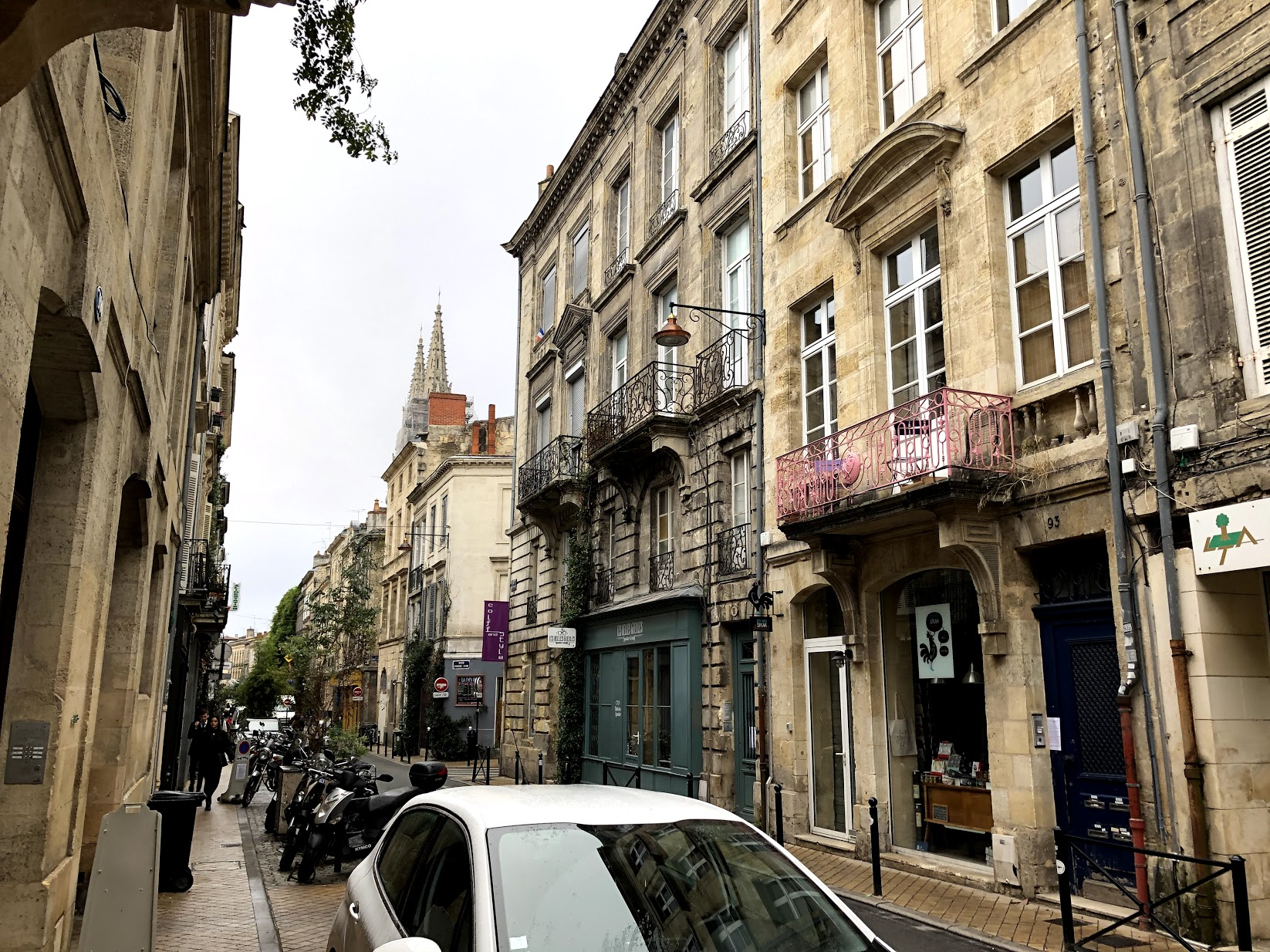 Uličkami Bordeaux