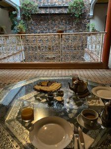 Raňajky v Marakéši