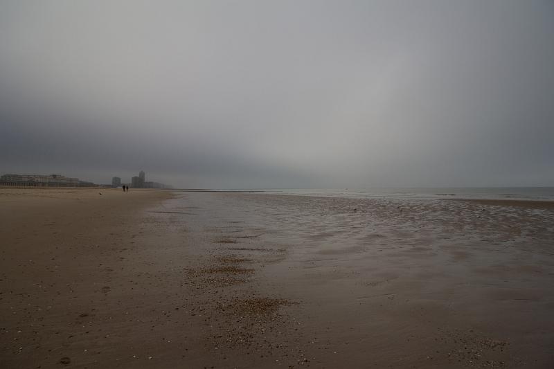 Pláž v Bray-Dunes, Francúzsko