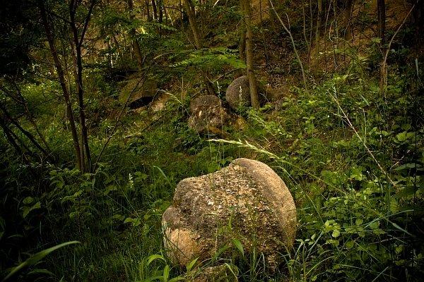 Chrenovec - Brusno, kamenné gule