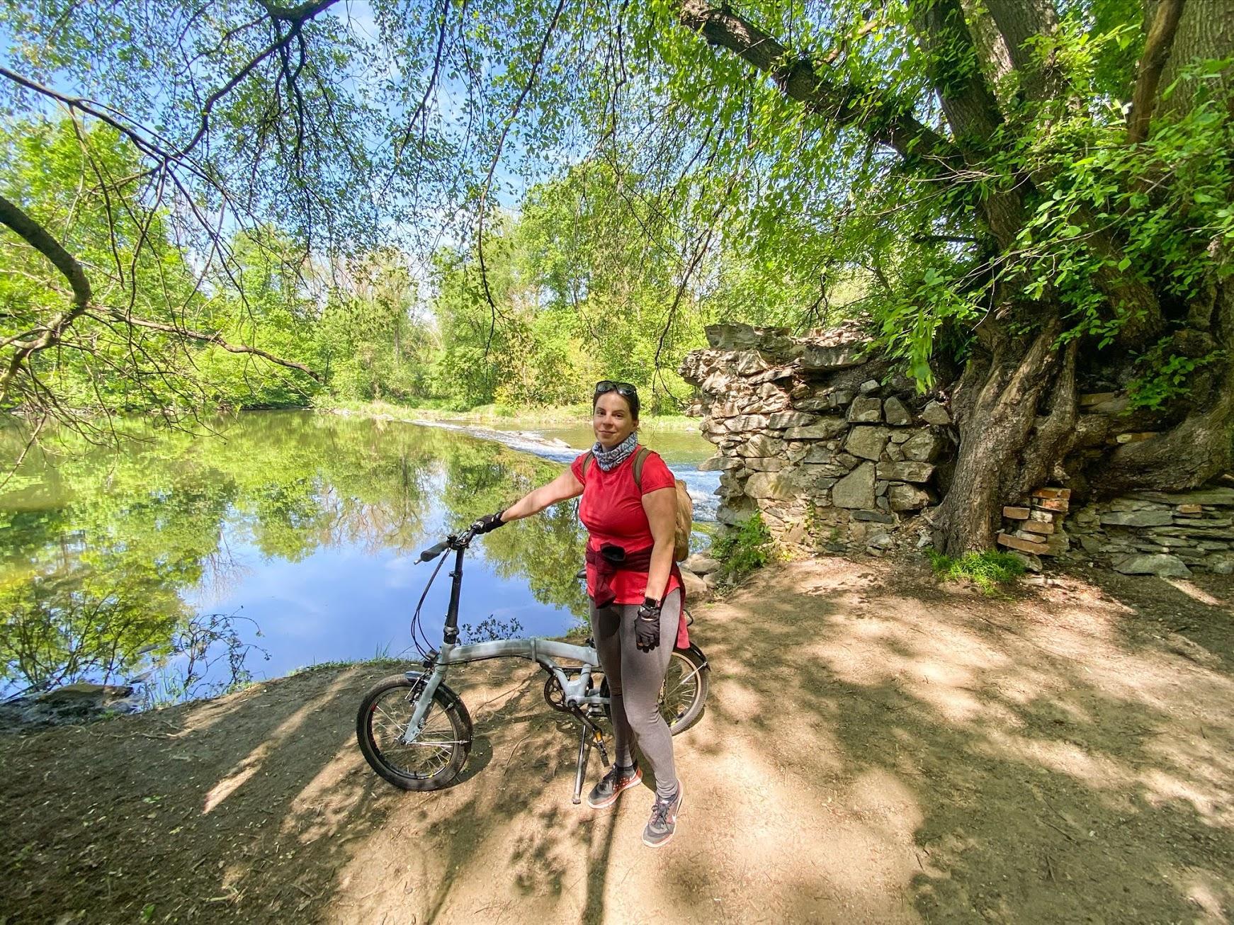 Pozostatky mlynov popri rieke Dyje